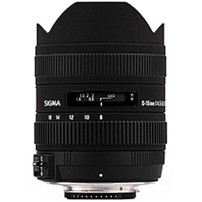 Sigma 8-16mm F4.5-5.6 DC HSM - Canon EOS Thumbnail Image 0