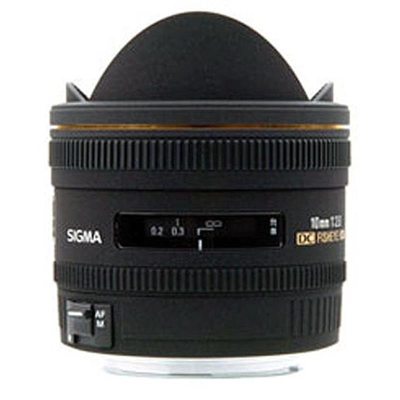 Sigma 10mm F2.8 EX DC HSM Fisheye - Nikon AF             SALE £599 Thumbnail Image 0