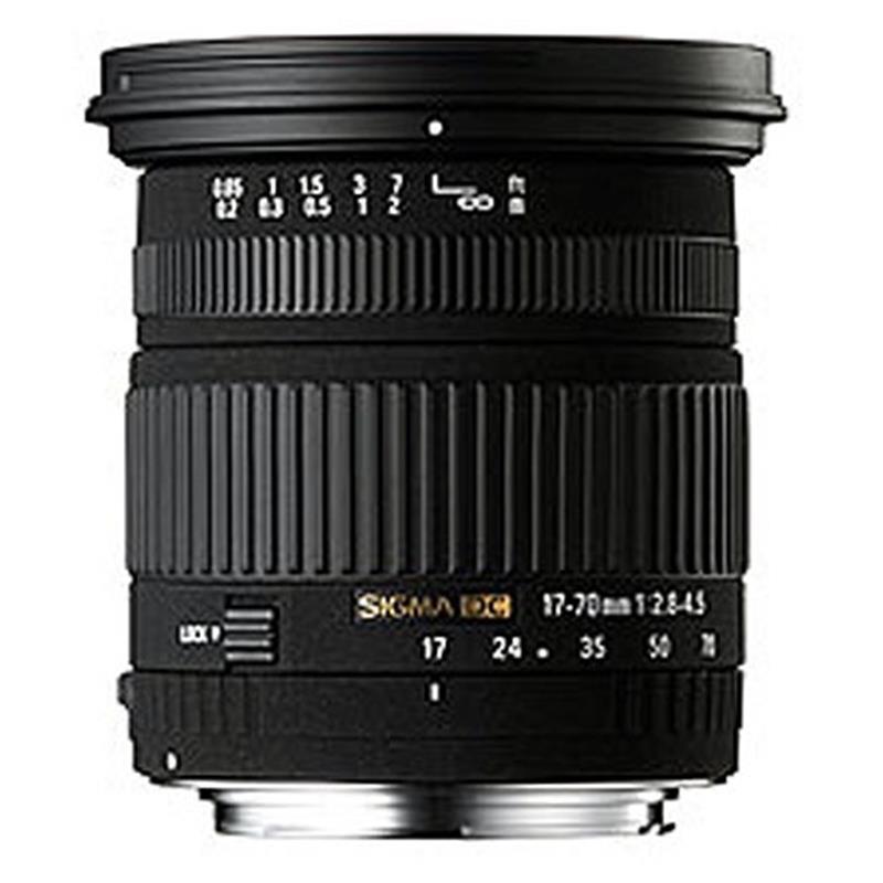Sigma 17-70mm F2.8-4 DC OS Macro HSM C - Nikon AF Thumbnail Image 0