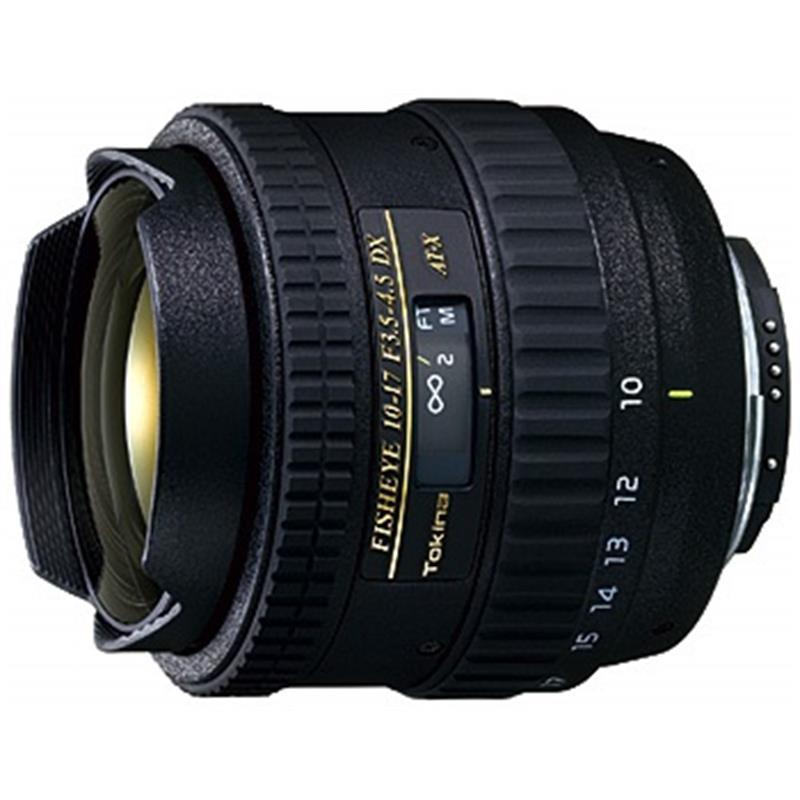 Tokina 10-17mm F3.5-4.5 DX Fish Eye ATX - Canon EOS Thumbnail Image 0