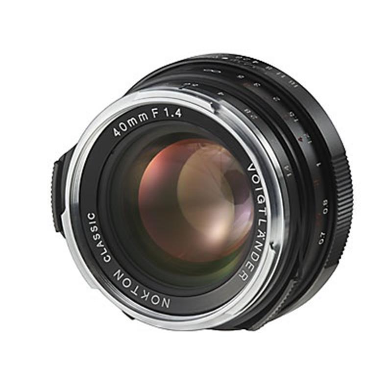 Voigtlander 40mm F1.4 VM Nokton SC Thumbnail Image 1