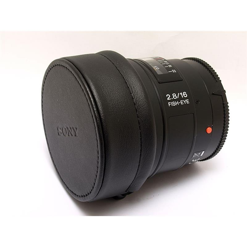 Sony 16mm F2.8 Fisheye Thumbnail Image 0