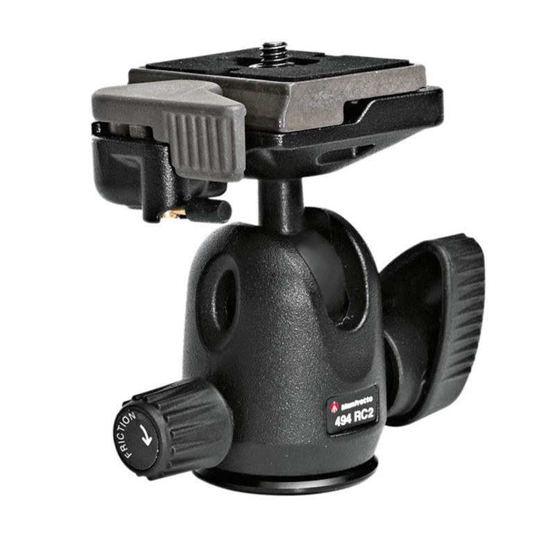 Manfrotto 494RC2 Mini Ball Head QR Image 1