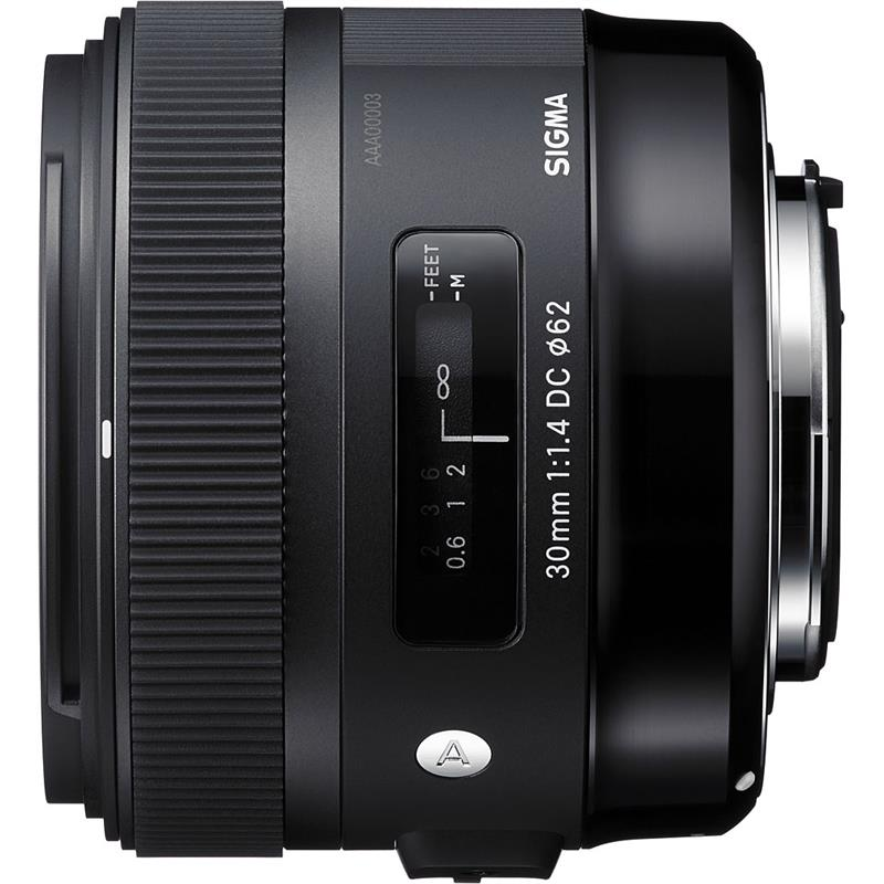 Sigma 30mm F1.4 EX DC HSM A - Canon EOS Thumbnail Image 1