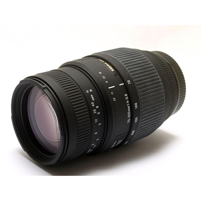 Sigma 70-300mm F4-5.6 DG - Canon EOS Thumbnail Image 0