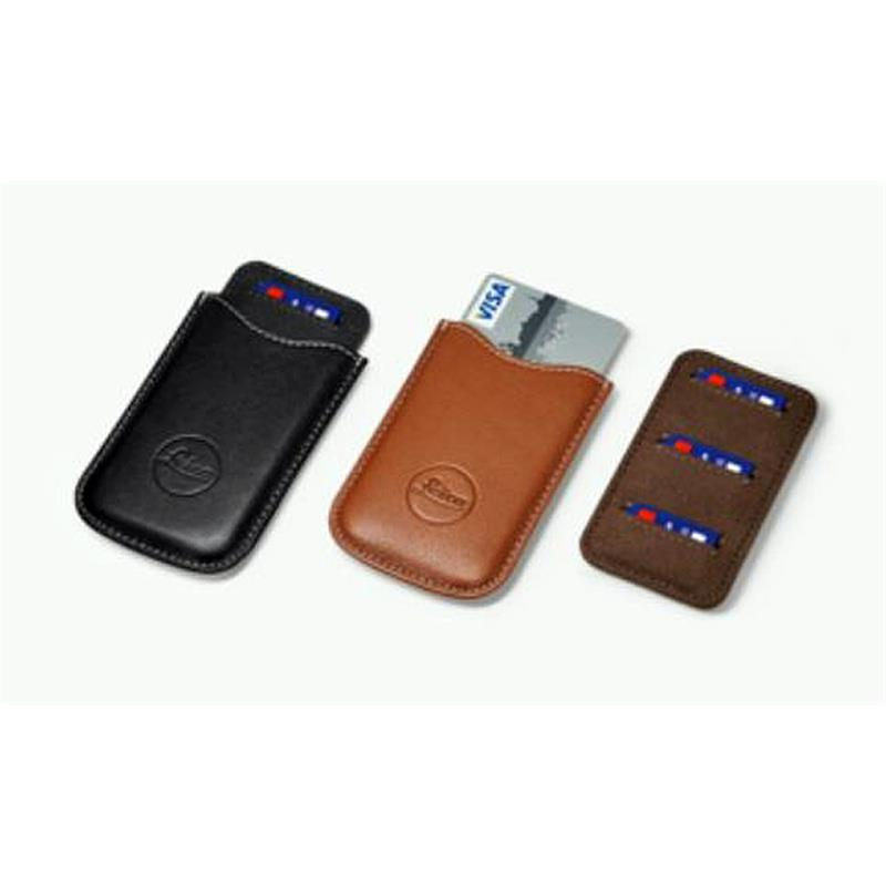 Leica SD & Credit Card Holder Cognac (18539) Image 1