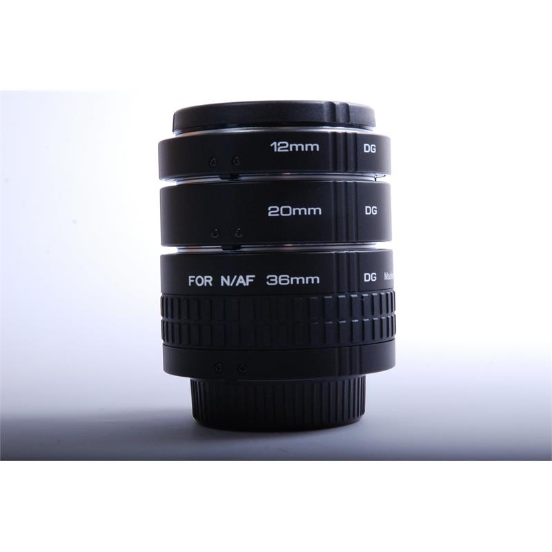 Kenko Extension Tube Set 12/20/36 DG - Nikon AF Thumbnail Image 0