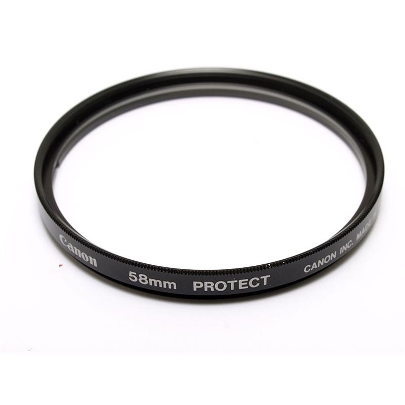 Canon 58mm Protector  Image 1