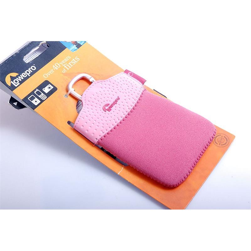 Lowepro Tasca 10 Pink Mobile Pocket Thumbnail Image 1