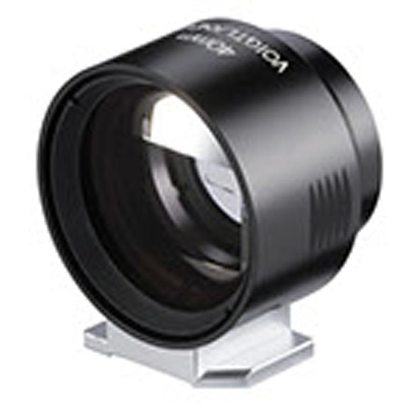 Voigtlander 40mm Metal Finder - Black  Image 1