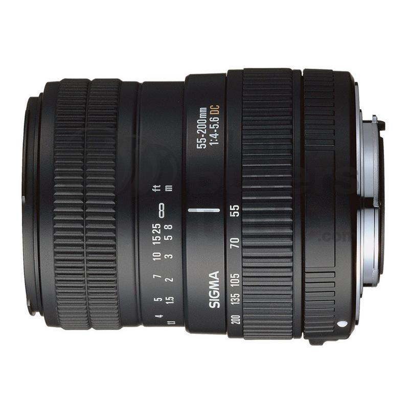 Sigma 55-200mm F4.5-5.6 DC - Sony AF Image 1