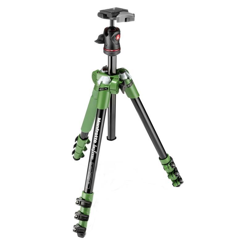 Manfrotto MN055V Green Tripod Image 1