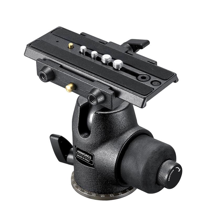 Manfrotto 468MG RC3 Hydrostatic Head QR Image 1