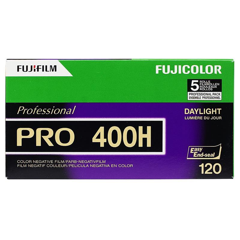 Fujifilm Pro 400H 120 Roll Film x10 Image 1