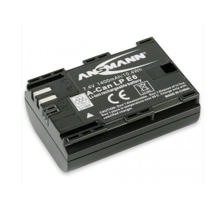 Ansmann LP-E6 Rechargeable Battery Thumbnail Image 1
