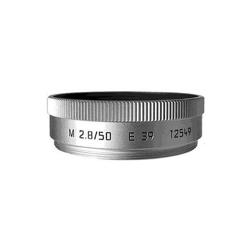 Leica Lens Hood 50/2.8 Silver (12549) Thumbnail Image 0