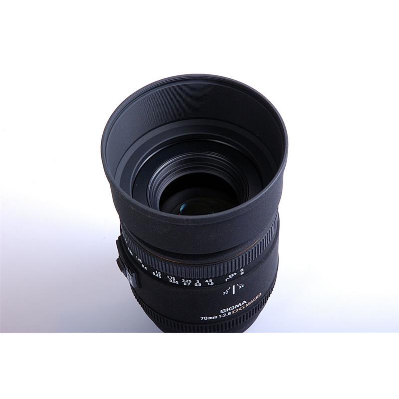 Sigma 70mm F2.8 EX DG Macro - Canon EOS Thumbnail Image 1