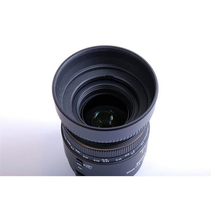 Sigma 50mm F2.8 EX DG Macro - Canon EOS Thumbnail Image 1
