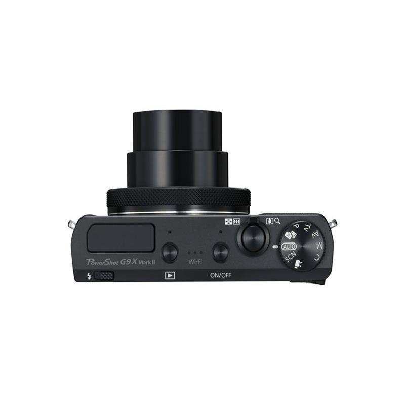 Canon Powershot G9x II - Black  Thumbnail Image 1