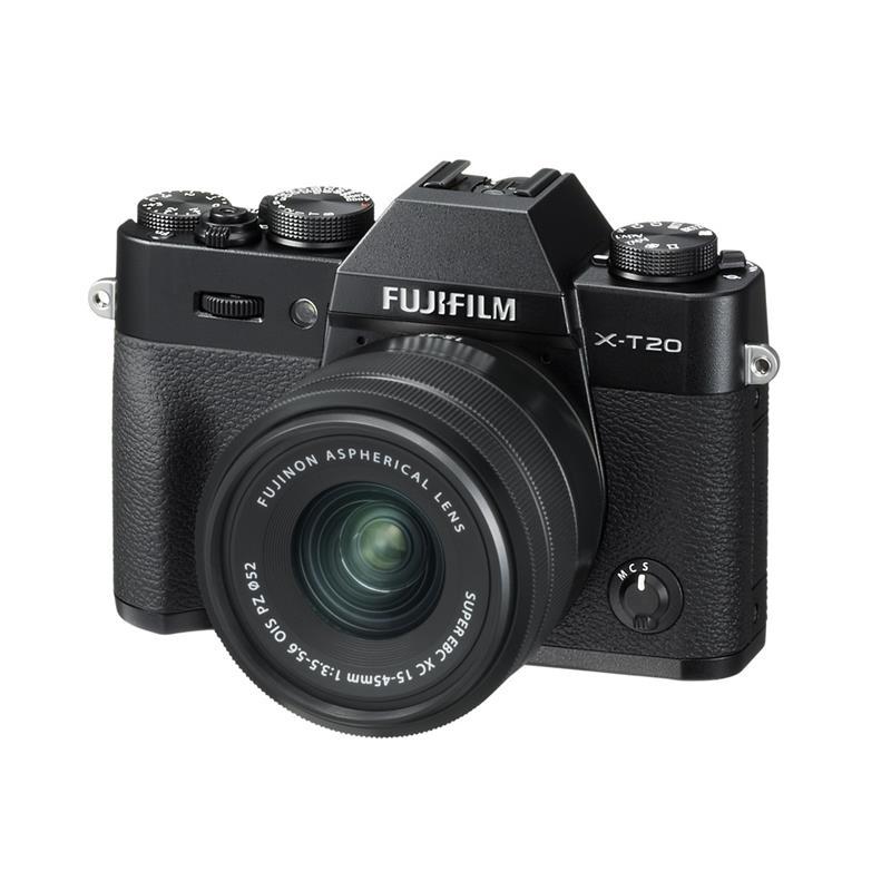 Fujifilm X-T20 + 15-45mm XC - Black Thumbnail Image 1