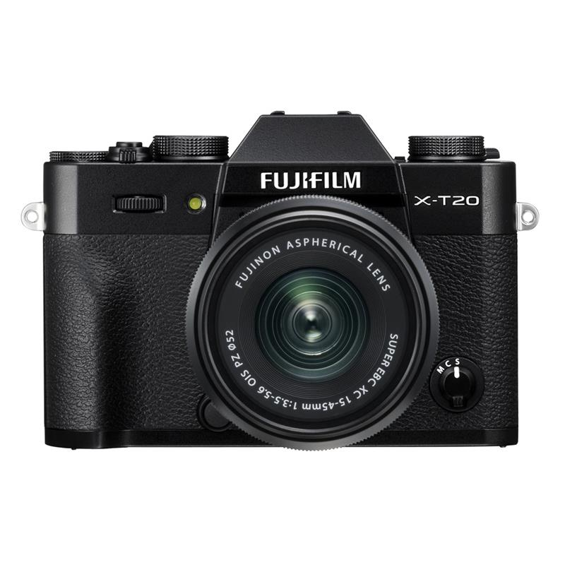 Fujifilm X-T20 + 15-45mm XC - Black Thumbnail Image 0