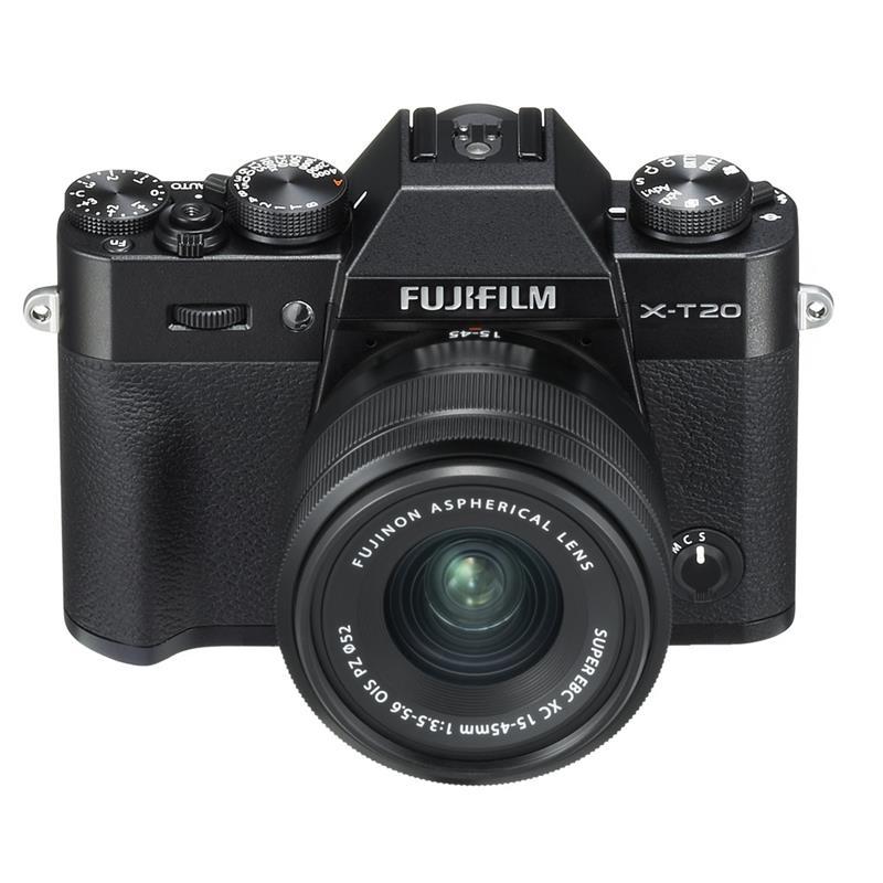 Fujifilm X-T20 + 15-45mm XC - Black Thumbnail Image 2