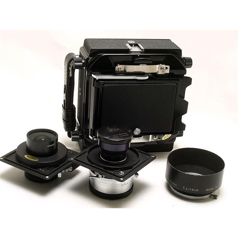 Horseman VH + 65mm/180mm Lenses Thumbnail Image 1