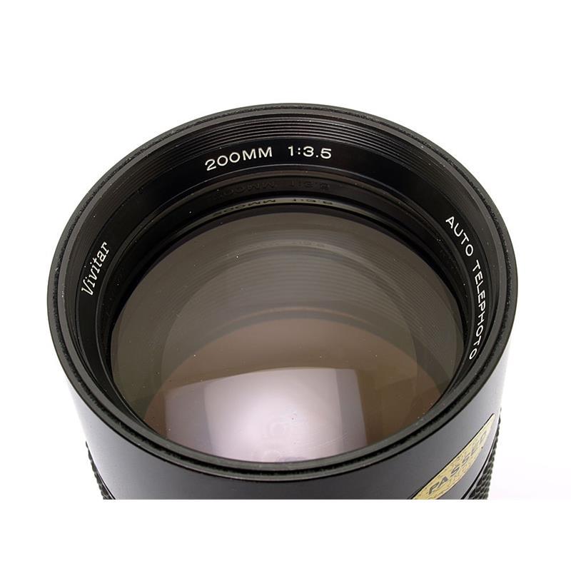 Vivitar 200mm F3.5 - Pentax Manual Thumbnail Image 1