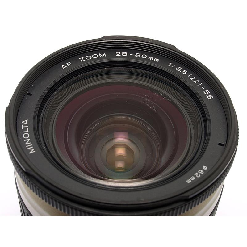 Minolta 28-80mm F3.5-5.6 AF Thumbnail Image 1