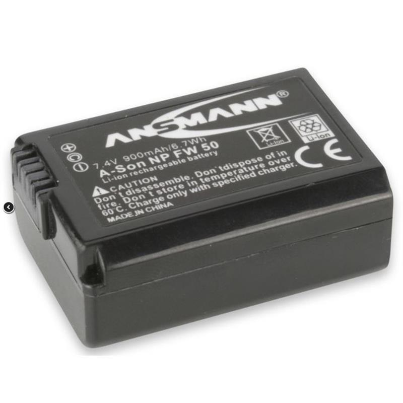 Ansmann Battery A-Son NP FW 50 Image 1