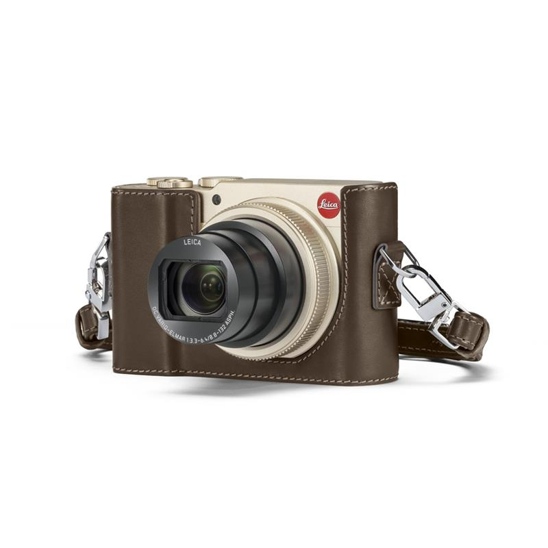 Leica C-Lux Leather Protector 18848 - Taupe Thumbnail Image 1