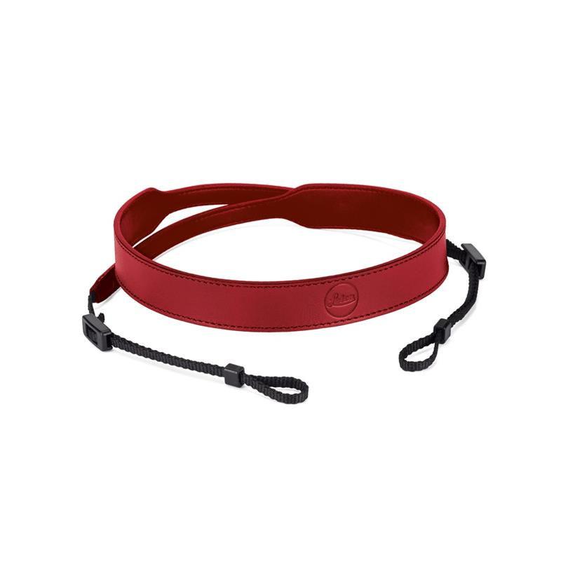 Leica C-Lux Leather Carrying Strap 18853 - Red Image 1