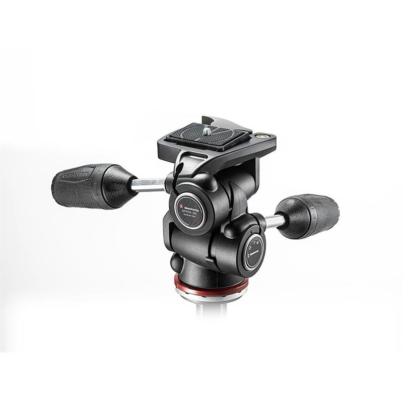 Manfrotto 3 Way Tripod Head Mark II MH804-3W Thumbnail Image 1