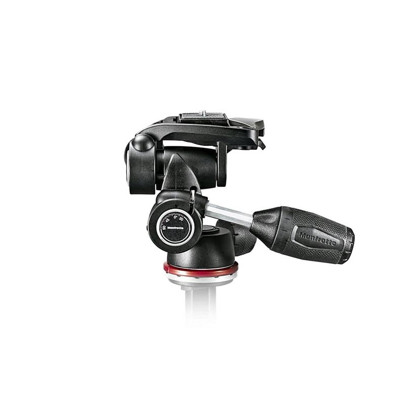 Manfrotto 3 Way Tripod Head Mark II MH804-3W Thumbnail Image 0
