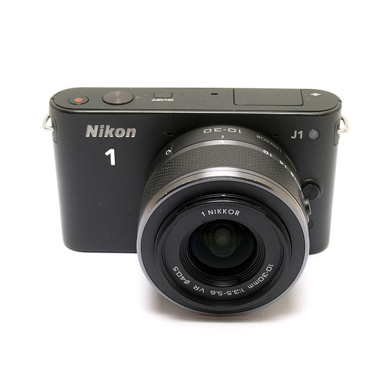 Nikon J1 Black + 10-30mm Image 1