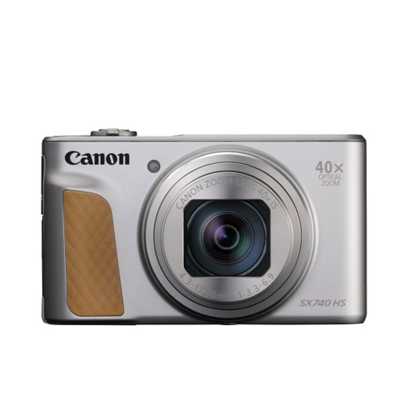 Canon PowerShot SX740 HS - Silver Thumbnail Image 0