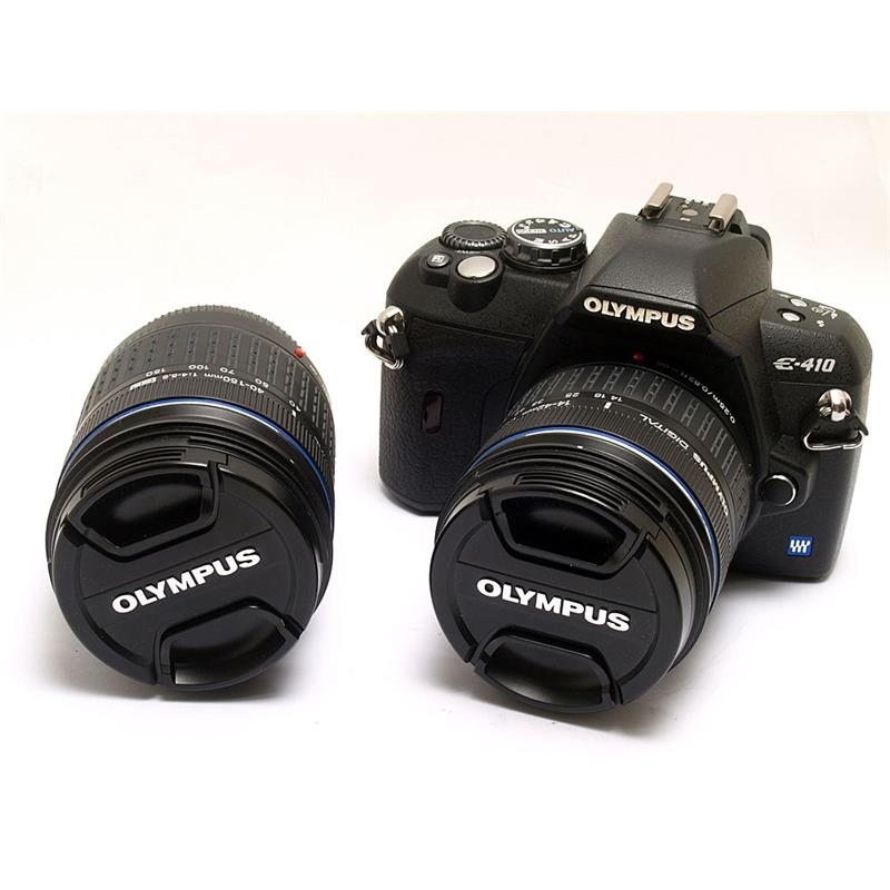 Olympus E410 + 14-42mm + 40-150mm Thumbnail Image 0