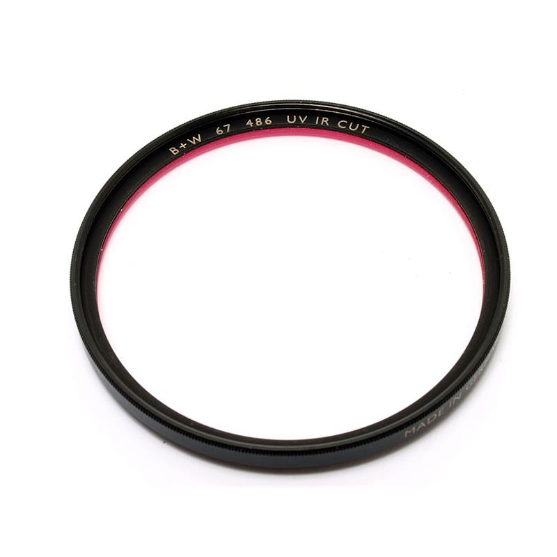 B+W 67mm UV/IR (486) - Black Image 1