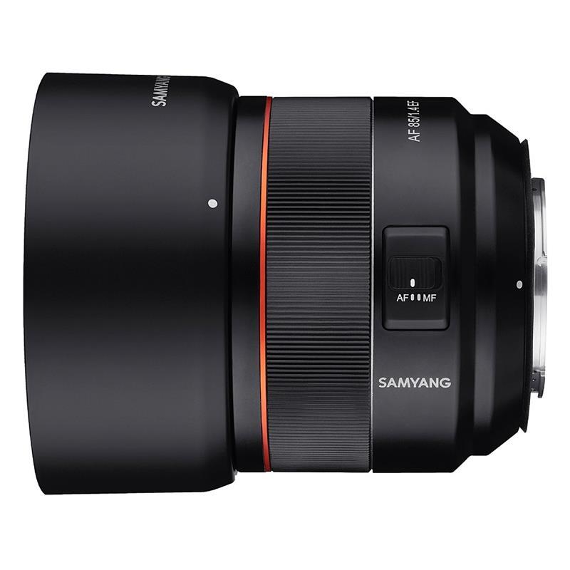 Samyang 85mm F1.4 EF - Canon EOS Thumbnail Image 1