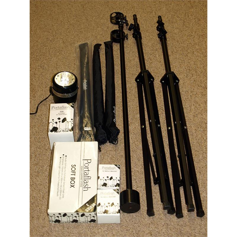 Portaflash 336V Lighting Kit Image 1