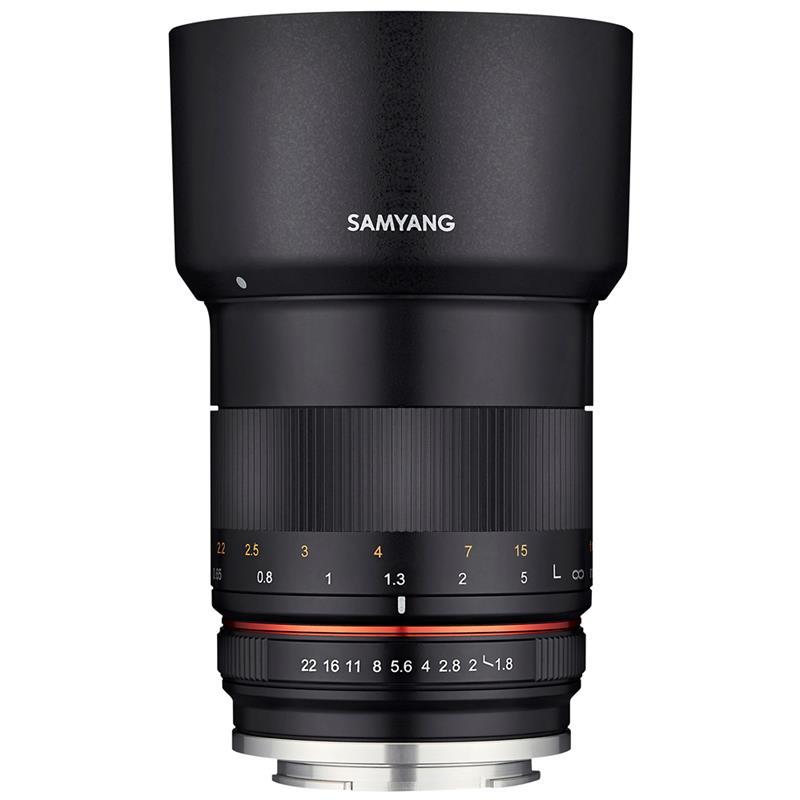 Samyang 85mm F1.8 MF ED UMC CS - Sony E Image 1