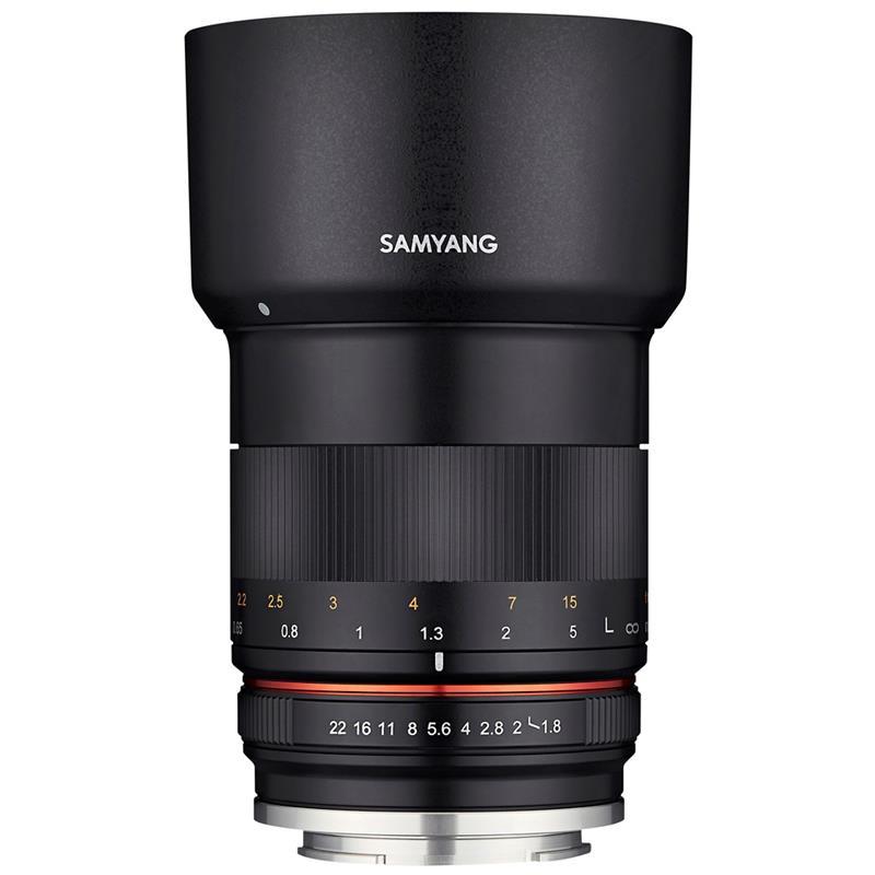 Samyang 85mm F1.8 MF ED UMC CS - Fujifilm X Image 1
