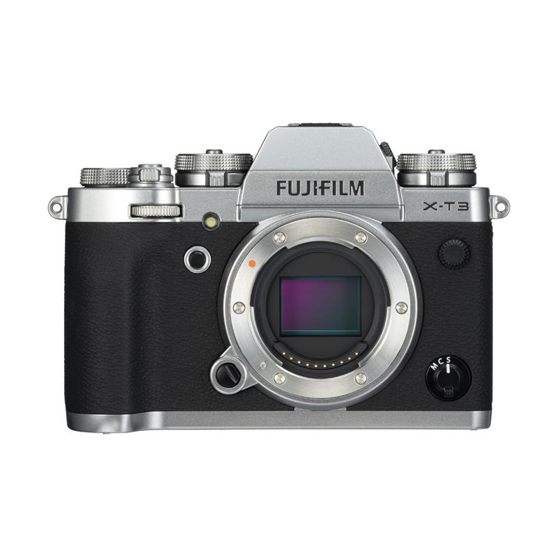 Fujifilm X-T3 Body Only - Silver - Double Cashback Thumbnail Image 0