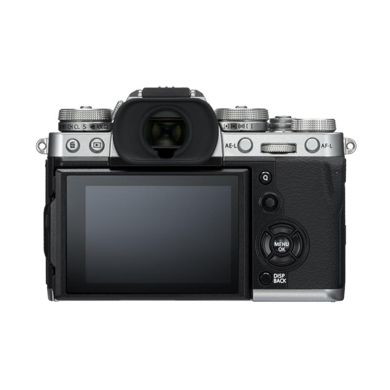 Fujifilm X-T3 Body Only - Silver - Double Cashback Thumbnail Image 1