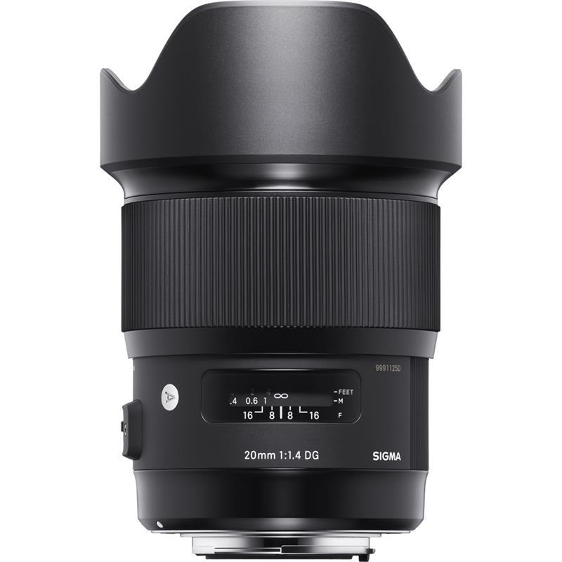 Sigma 20mm F1.4 DG HSM Art - Sony E Thumbnail Image 1