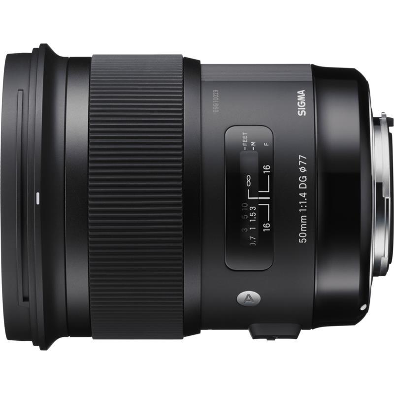 Sigma 50mm F1.4 DG HSM Art - Sony E Thumbnail Image 0