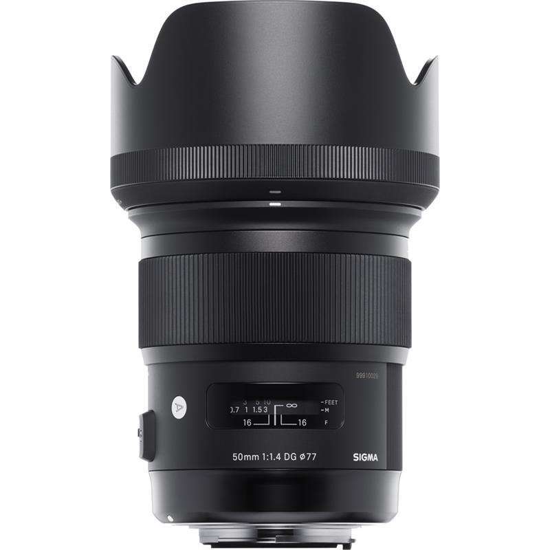 Sigma 50mm F1.4 DG HSM Art - Sony E Thumbnail Image 1