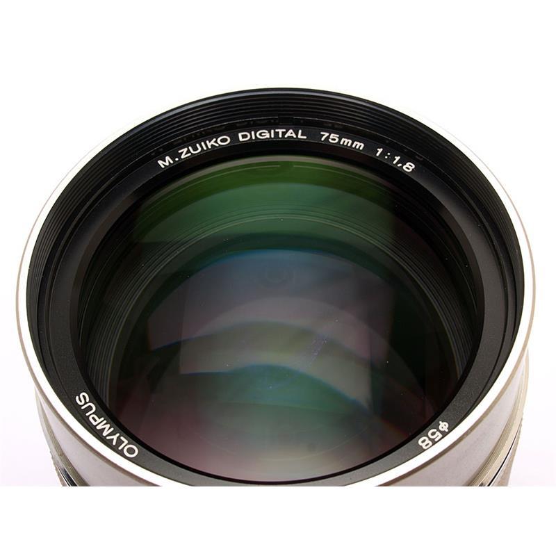 Olympus 75mm F1.8 ED M.Zuiko - Silver Thumbnail Image 1