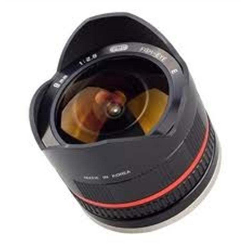 Samyang 8mm F2.8 UMC Fish-Eye II Black - Sony E Image 1