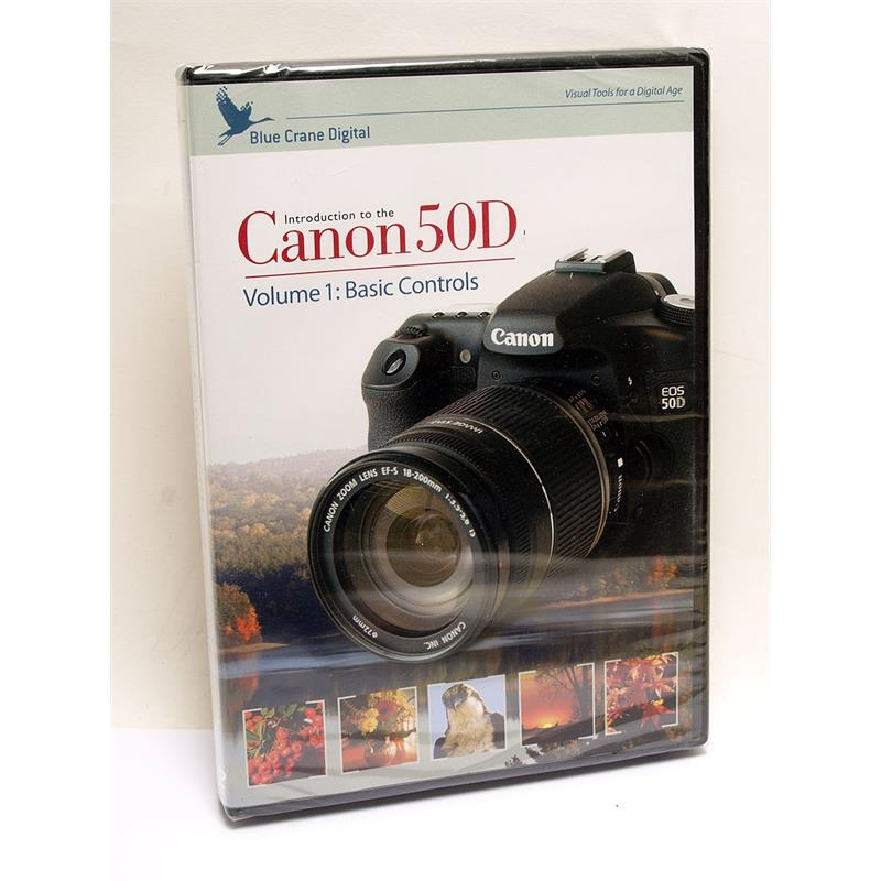Blue Crane Canon EOS 50D Basic Control Vol 1 DVD Image 1